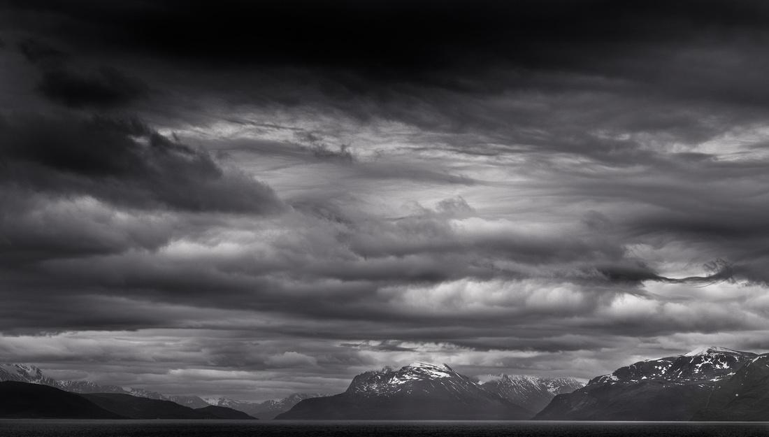 Morning Mountains in Norway